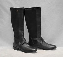 Cole Haan Parsonage Leather Black Boots