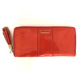 Cole Haan large zip around wallet