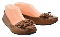 Cole Haan Womens Solid Loafers 6b Leather Casual Brown Flats