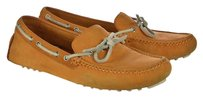 Cole Haan Womens Moccasins Leather Casual Orange Flats