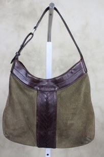 Cole Haan Womens Brown Shoulder Bag