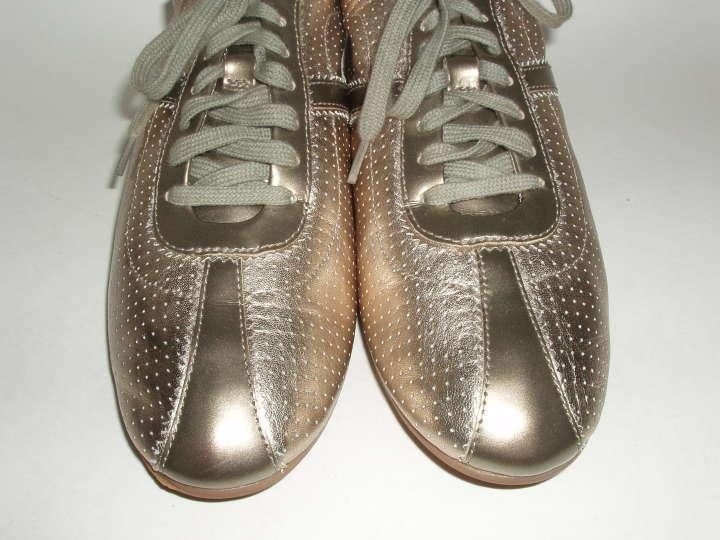 Cole Haan Vintage Silver Air Bria Perforated Oxford Sneaker Sneakers Size  US 9.5 Regular (M, B) - Tradesy