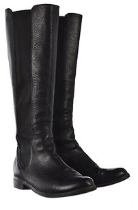 Cole Haan Womens Leather Black Boots