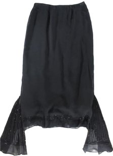 Collette Dinnigan Asymmetrical Skirt Black