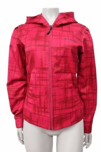 Columbia Columbia Sports Wear Womens Omni Shield Zip Up Hooded Jacket Magenta