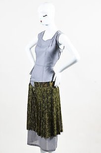 Multi-Color Maxi Dress by COMME des GARÇONS Garcons Gray Green