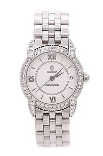 Concord Concord Stainless Steel Diamond Impresario Womens Watch