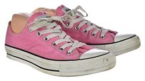 Converse All Star Womens Low Top Sneakers Color Block Lace Up Pink Athletic