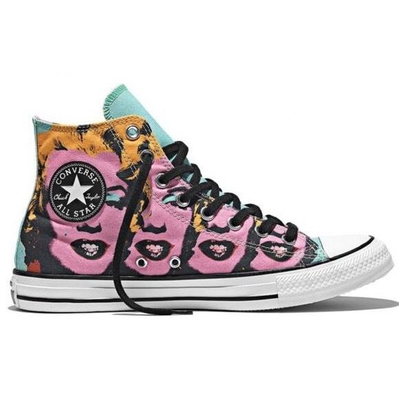 8ccc632ffd85 Converse Chuck Taylor All Star Andy Warhol Marilyn Monroe High Top  MultiColor Schuhe - associate-degree.de