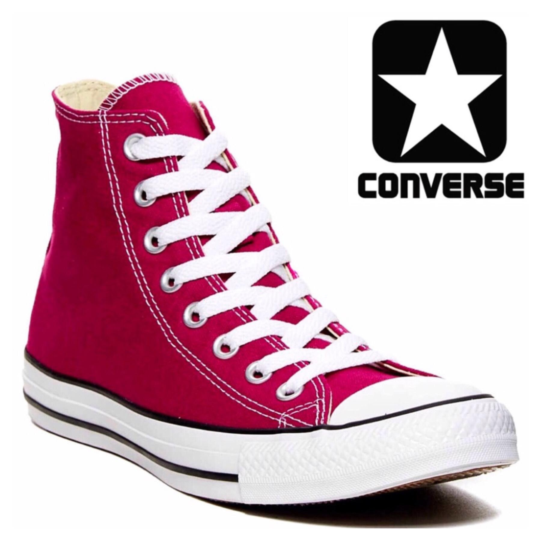 Converse Pink Sapphire, white Athletic ...