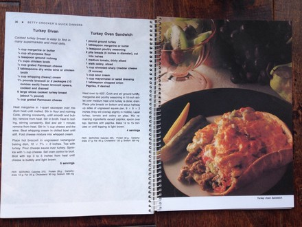 Cookbook Two cookbooks: Fish & seafood; Quick Dinners in 30 minutes or less
