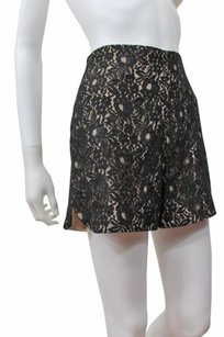 Corey Lynn Calter Lace Dress Shorts Black Nude