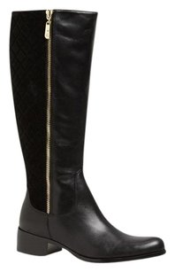 Corso Como Leather Quited Black Boots