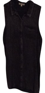 Cotton On short dress Black denim on Tradesy
