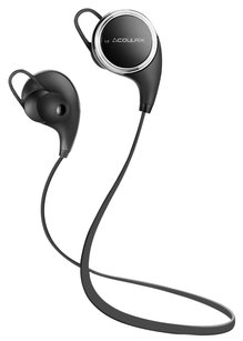 COULAX COULAX Bluetooth Headphones V4.1 Wireless Sport Stereo In-Ear Noise Cancelling Sweatproof Headset with Mic /Apt-X for iPhone and Android