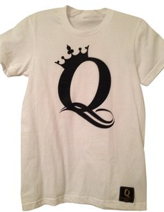 Crown The Queens T Shirt White