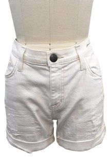 Current/Elliott Current Elliot Jean Soule Shorts White