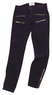Current/Elliott Currentelliot Womens Purple Pants
