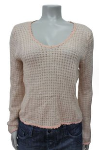 Cynthia Rowley Cable Knit Wool Sweater
