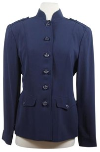 Dana Buchman Womens Navy Jacket