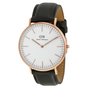 Daniel Wellington Classic Sheffield Eggshell White Dial Men's Watch 0107DW