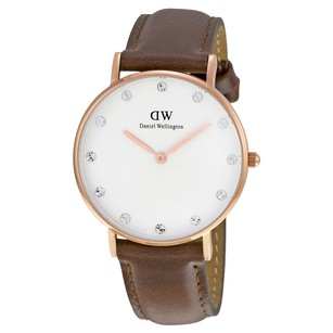 Daniel Wellington Classy St Mawes White Dial Ladies Watch 0950DW