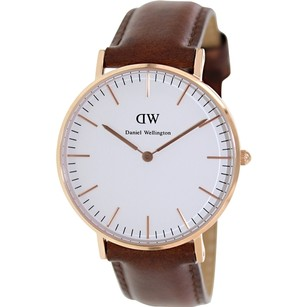 Daniel Wellington Daniel Wellington Female Andrews Watch 0507DW Rose Gold Analog