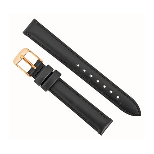 Daniel Wellington Sheffield 13MM Black Leather Watch Band Strap 1001DW