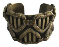DANNIJO Dannijo Queen of Hearts Brass Cuff Bracelet