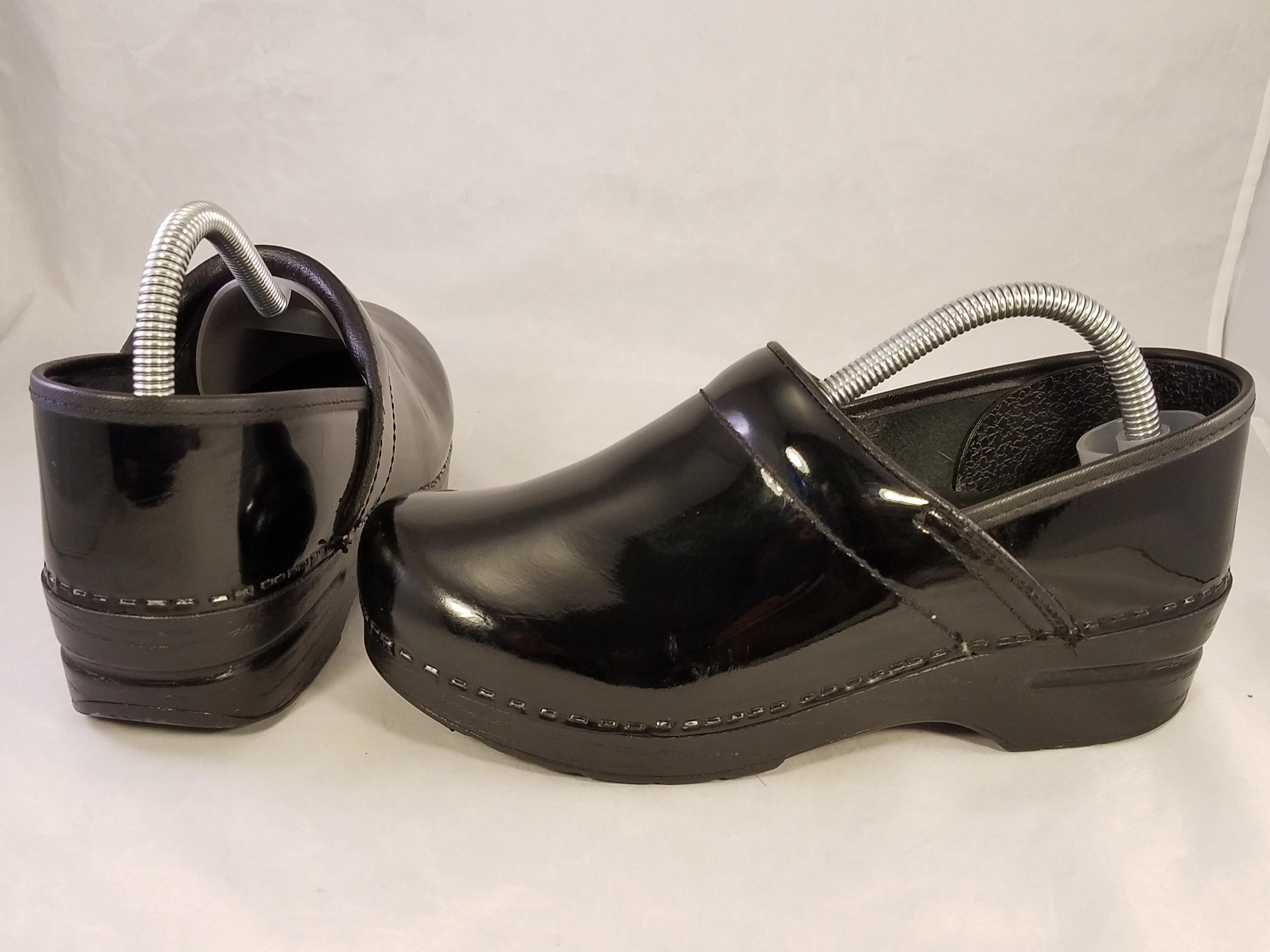 how to get scuff marks off patent leather dansko