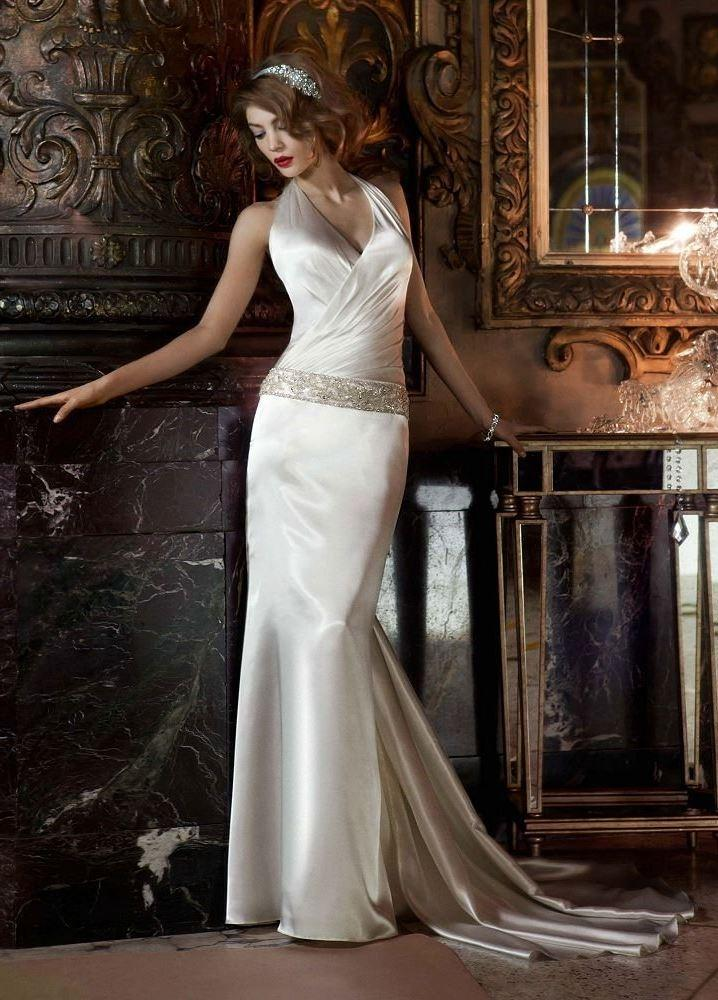 Silk Charmeuse Wedding Dress – Fashion dresses