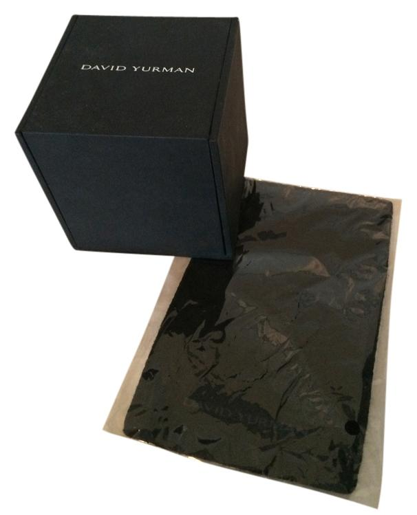 David Yurman Black Ring Box and Cleaning Cloth Tradesy