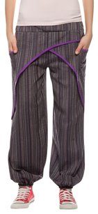 Relaxed Pants Purple