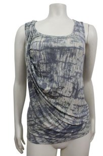 Deletta Anthropologie Water Top blueish gray