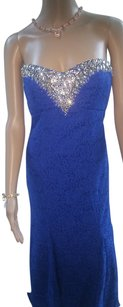 Derek Heart Junior Size 9 Lace Faux Gemstones Sequin Accents Dress