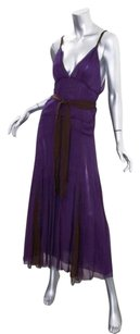 Derek Lam short dress Purple Womens Silk on Tradesy