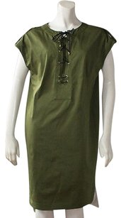 Derek Lam short dress Green Cotton Blend on Tradesy