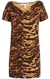 Diane von Furstenberg short dress Palace Tiger on Tradesy