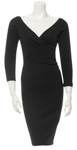 Diane von Furstenberg short dress Black Iro Victoria Beckham Norma Kamali Dvf on Tradesy