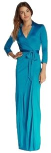 Turquoise Maxi Dress by Diane von Furstenberg