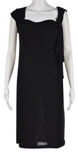 Diane von Furstenberg Womens Knee Length Casual Solid Sheath Dress