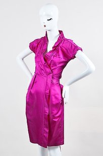 Diane von Furstenberg Magenta Dress