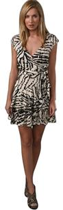 Diane von Furstenberg Wrap Dvf 100% Silk Silk Dress