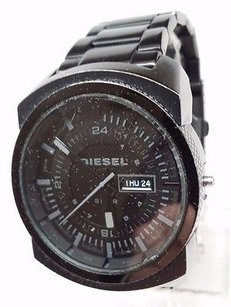 Diesel Diesel Xlg Analog Black Bracelet Mens Watch Dz1474 Broken For Parts