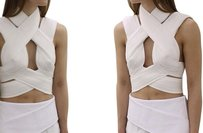 Dion Lee Josh Goot Celine Top White