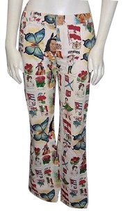 Dior Christian Country World Pattern Stretch Hs2999 Pants