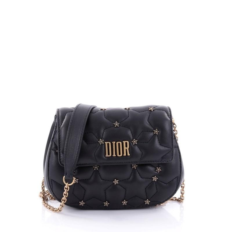 Dior Dio(r)evolution Round Clutch With Chain Studded Leather Small h6YTtoygZj