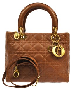 Dior Hand Tote in Brown