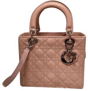 Dior Satchel in Pink, Beige