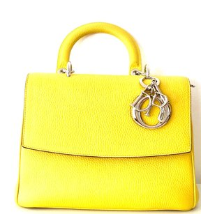 Dior Be Satchel in Yellow